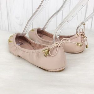 kate spade Shoes - Kate Spade Pink 'Just Married' Gwen Flats